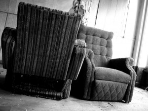 Vintage chairs B/W